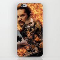 mad max iPhone & iPod Skins featuring Mad Max by SB Art Productions