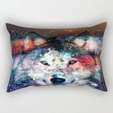 wolf universe Rectangular Pillow