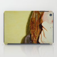scream iPad Cases featuring Scream by Lily Patterson