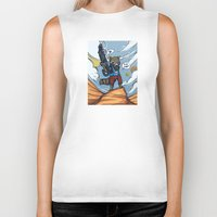 rocket raccoon Biker Tanks featuring Rocket Raccoon and Baby Groot  by BlacksSideshow