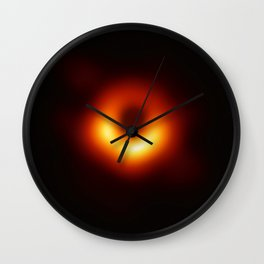 BLACK HOLE - First-Ever Image of a Black Hole Wall Clock