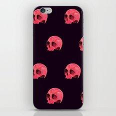 Pink Skull Pattern iPhone Skin