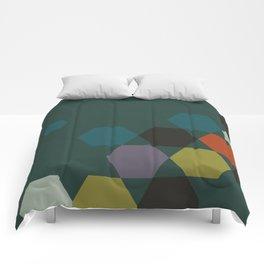 cluster || green night Comforters