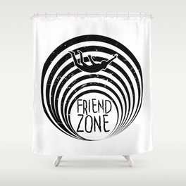FriendZone Shower Curtain
