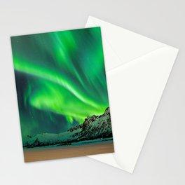 Northern Lights - Aurora Borealis_Winter Stationery Cards