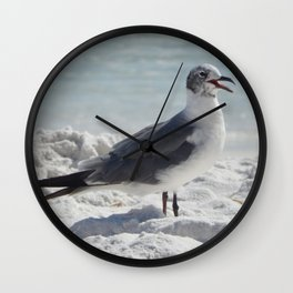Laughing Gull Wall Clock