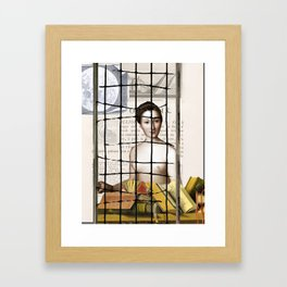 The Ambiguity of memory, making yesterday almost impossible to lift Framed Art Print