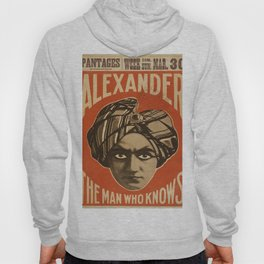 Vintage poster - Alexander, The Man Who Knows Hoody
