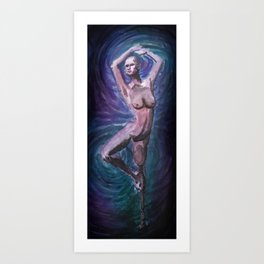 Prosthetic Dancer Art Print