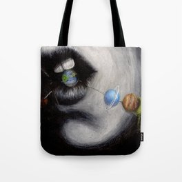 Candy Planets Tote Bag