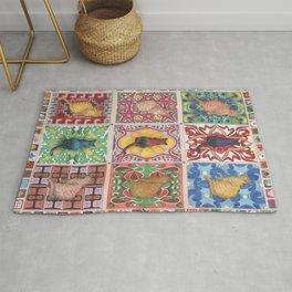 Cat Tiles Rug
