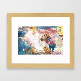 Cold In Yokohama 05 Framed Art Print