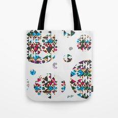 Basic Shapes Pattern 3 - Circles Tote Bag