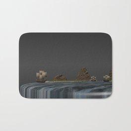 Sailing on World´s Edge Bath Mat