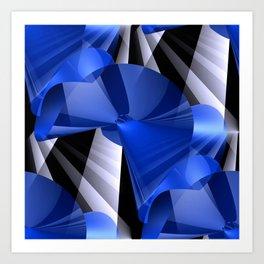 3D abstraction -03- Art Print