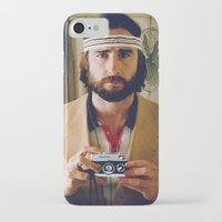 tenenbaum iPhone & iPod Cases featuring Richie Tenenbaum by VAGABOND