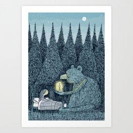 'Night Light' Art Print