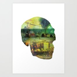 Shapes Of The Future: III Art Print