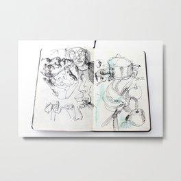 diary I Metal Print