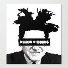 Weeknd @ Bernie's Canvas Print