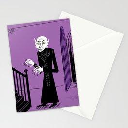 The Halloween Series - Nosferatu - Purple version Stationery Cards