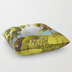 City in the Sky_Lanscape Format Floor Pillow