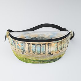 Reichstag Berlin Germany Fanny Pack