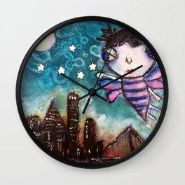 Friday Night Lights Wall Clock