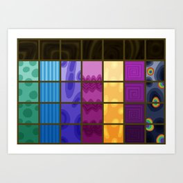 Changeling Rainbow Art Print