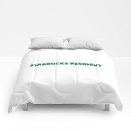 starbucks resident Comforters