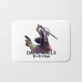 dark souls Bath Mat