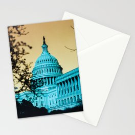Dystopian DC Stationery Cards
