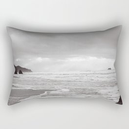 Foggy Coast Rectangular Pillow