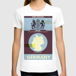 Germany vintage style travel cover. T-shirt