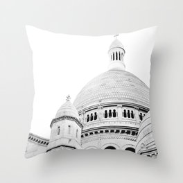 Sacre Coeur - Paris, France Throw Pillow