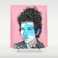 dylan Shower Curtains featuring Dylan by Samuel Charrois