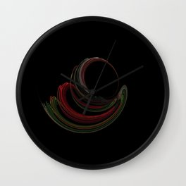 The Sphere of Peace Wall Clock