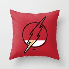 Running Low Throw Pillow