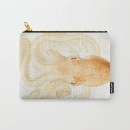 Peachy Keen Octopus Circa 1898 Carry-All Pouch