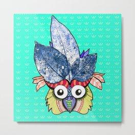 • CR owl • Metal Print