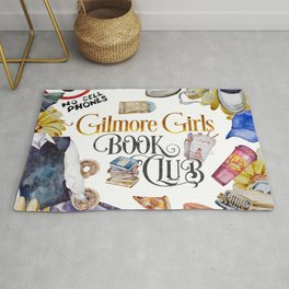 GG Book Club WhiteBG Rug