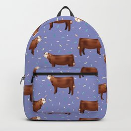 Simmental // Purple// Sprinkles Backpack