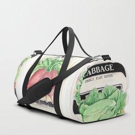 Vintage Vegetable Seed Packs Duffle Bag