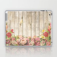 Wood Roses Laptop & iPad Skin