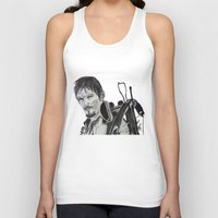daryl Tank Tops featuring Daryl Dixon by Brittany Ketcham