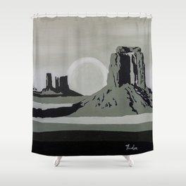 Monument Valley #1 Shower Curtain