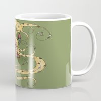 rapunzel Mugs featuring Rapunzel by Catru