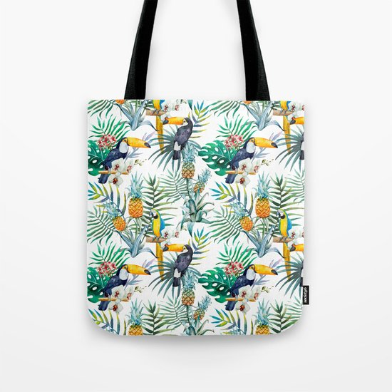 Parroted Tote Bag