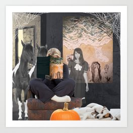 Is It True About the Horses? Art Print