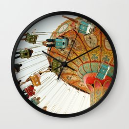 santa cruz.  Wall Clock